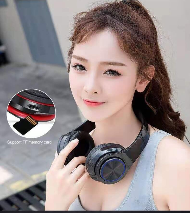2020 Cheaper Sports Stereo Wireless Headset Foldable Wired Earphones 30