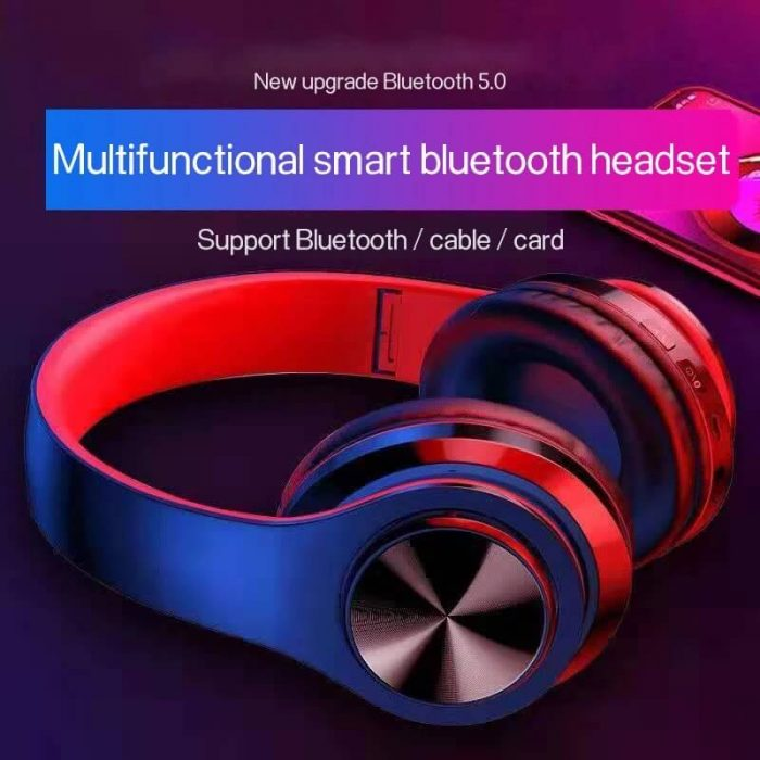 2020 Cheaper Sports Stereo Wireless Headset Foldable Wired Earphones 10