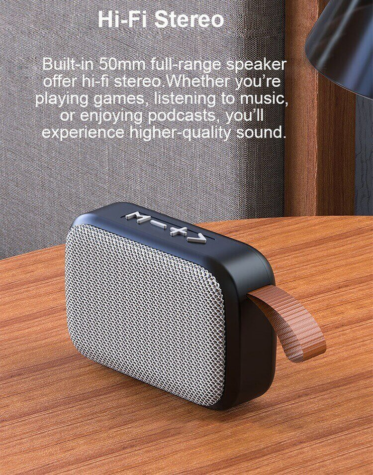 New Arrival G2 Small Wireless Bluetooth Speakers with FM Radio High-quality Portable Stereo Speakers 20