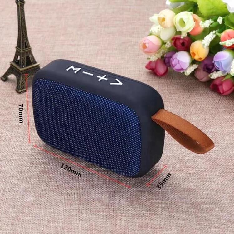 New Arrival G2 Small Wireless Bluetooth Speakers with FM Radio High-quality Portable Stereo Speakers 3