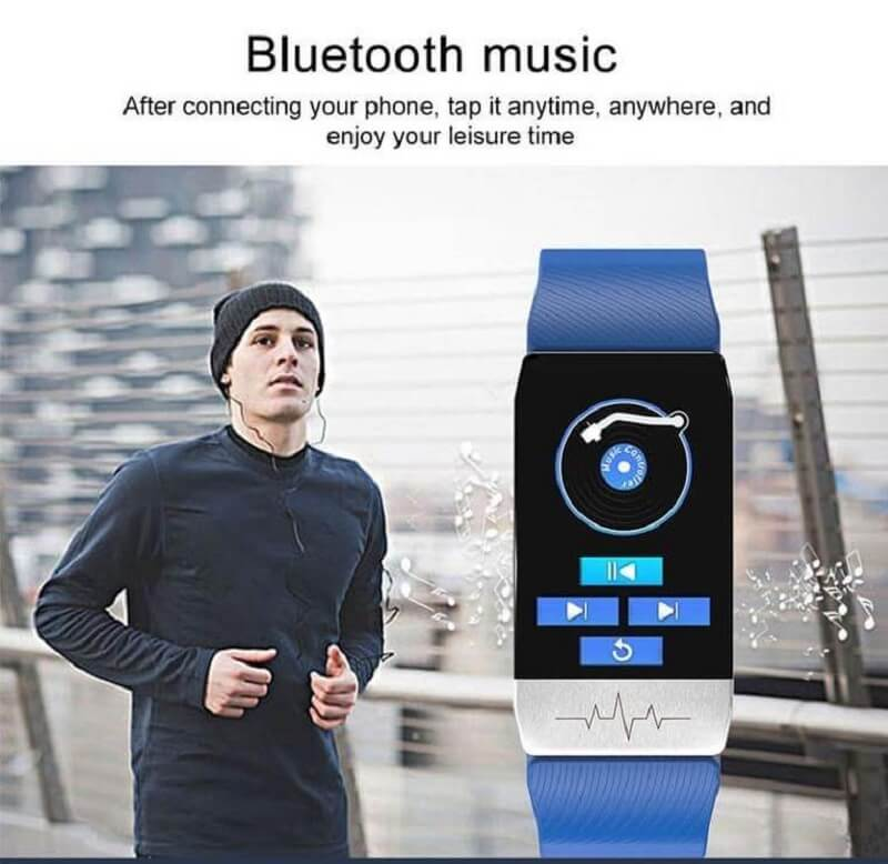 T1 Smart Band with Thermometer ECG Temperature Smartwatch 30