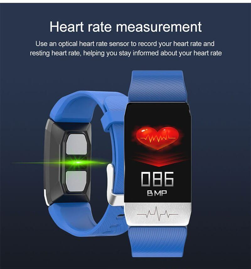 T1 Smart Band with Thermometer ECG Temperature Smartwatch 18