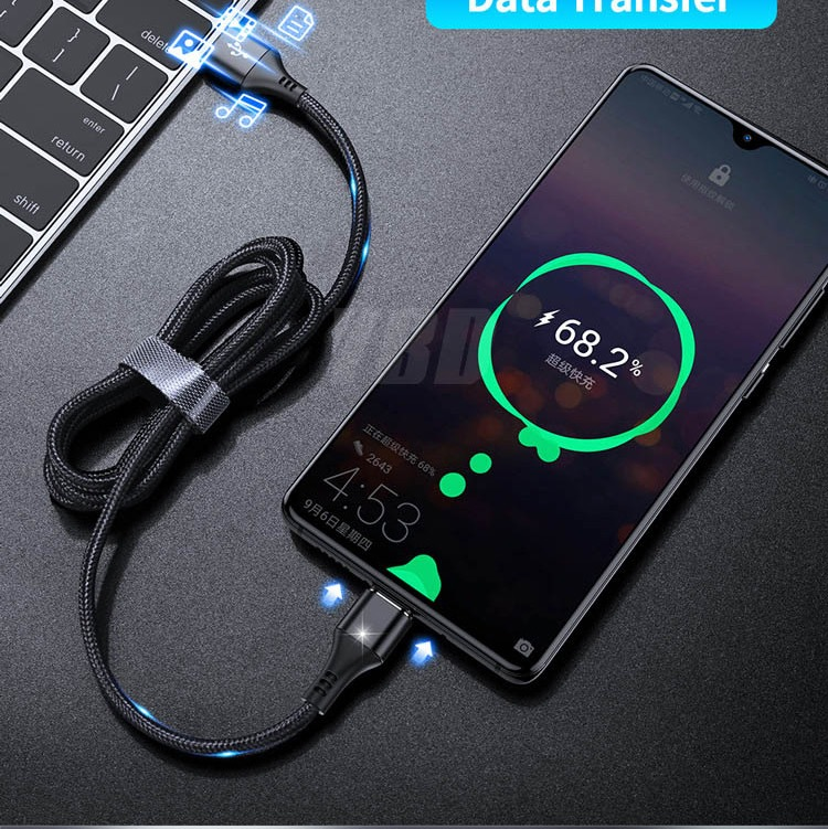 2020 New Hot Selling 3A Magnetic 3 in 1 Charging Cable Type-C Android IOS USB Data Cable 34