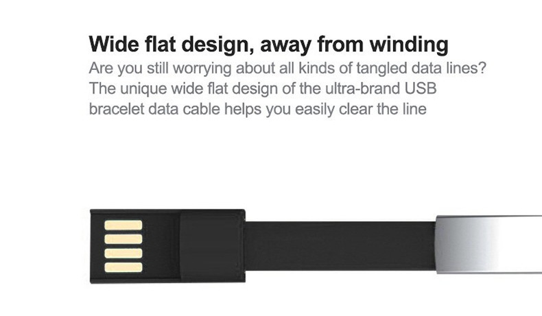 2020 New Product Bracelet Data Cable Mobile Phone Charging Cable 26