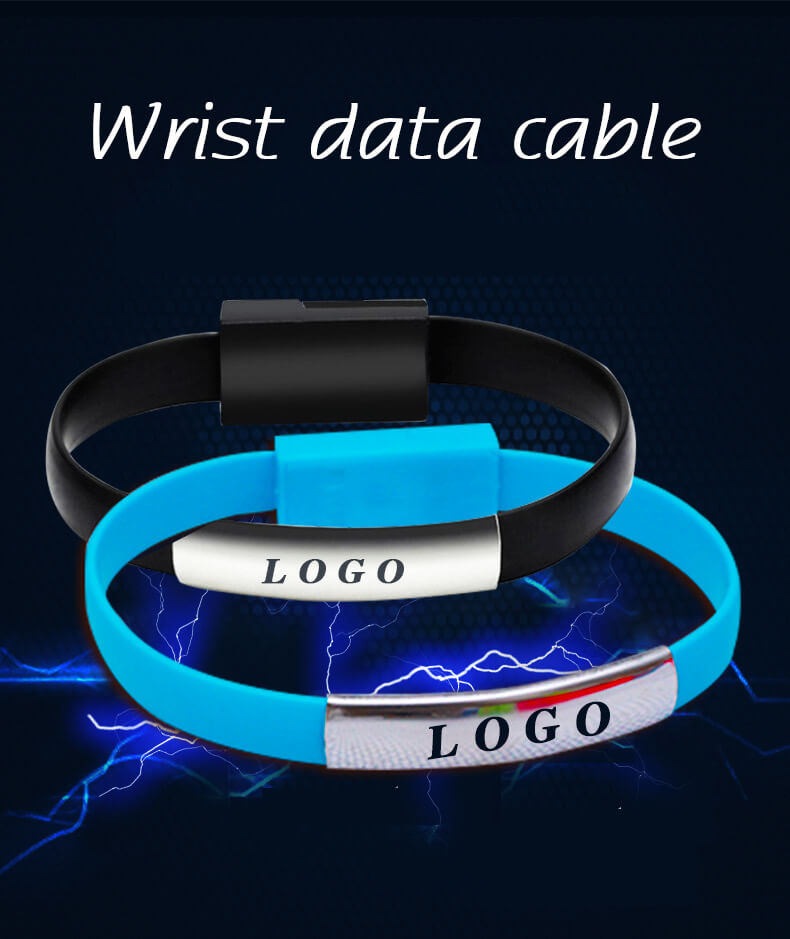 2020 New Product Bracelet Data Cable Mobile Phone Charging Cable 12