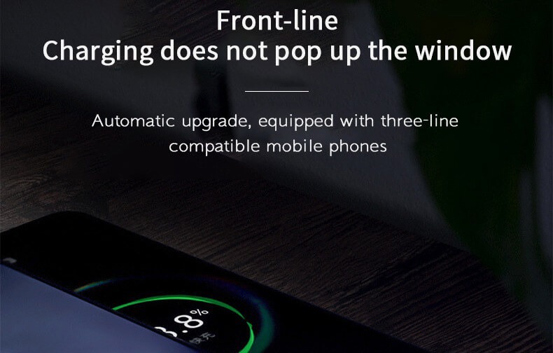 2020 New Cellphone Fast Charging Data Cable Trending LED Flowing Light Magnetic Charging Cable 30